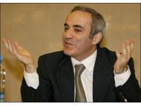 Kasparov não disputará as eleições presidenciais