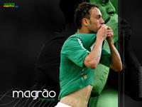 Magrão alegre por disputar o Campeonato Brasileiro