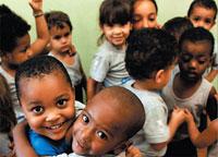 Brasil:  média de filhos é de 1,8