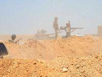 Exército sírio elimina terroristas do Daesh no deserto. 34956.jpeg