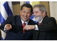 """Lula: """"não seria justo, numa conferência com Chavez comentar assunto como PAC"""""""