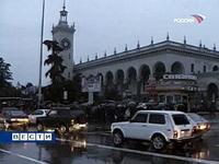 Sotchi  com 400 mil habitantes  fica 24 horas sem a electricidade