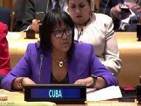 Bloqueio dos EUA dificulta contribuição de Cuba na ONU. 27962.jpeg
