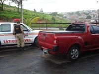 Carro com placa clonada de outro carro roubado