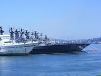 Frota do Pacífico vigia submarinos norte-americanos