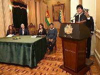 Evo Morales pede um novo sistema de saúde na Bolívia. 27974.jpeg