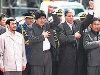 Ahmadinejad procura na Bolívia  urânio?