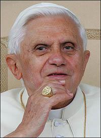 Papa Bento XVI dirigiu a Angola, uma mensagem de