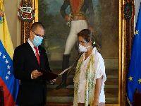 Venezuela entrega notas de protesto a diplomatas europeus. 34979.jpeg