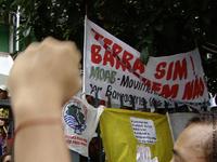 Moab completa 20 anos protestando contra a construção da usina de Tijuco Alto, no Vale do Ribeira (SP)