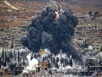 EUA bombardeiam combatentes iraquianos anti-Daesh na Síria. 34986.jpeg