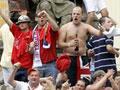 Uefa teme o comportamento dos torcedores de Roma