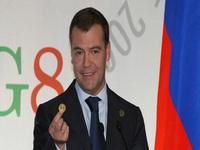 Medvedev: Rússia pode reduzir a intensidade do uso de energia por 40 por cento