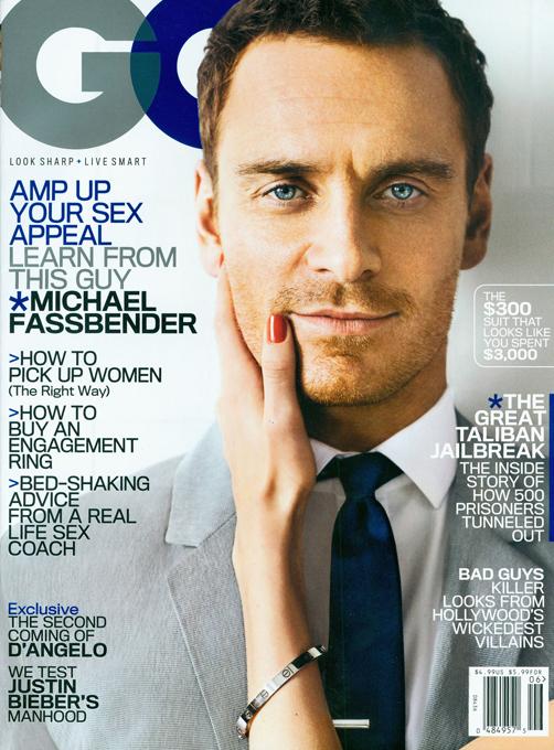 Os homens mais sexuais segundo Glamour Revista femenina Glamour UK revelou os homens mais sexy de 2012, depois de votação de 40 000 das suas leitoras.Na foto: Michael Fassbender - O ator irlandês-alemão é No. 4 Foto : Splash/All Pver Press