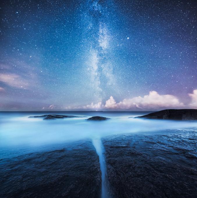 Beleza das paisagens nórdicas