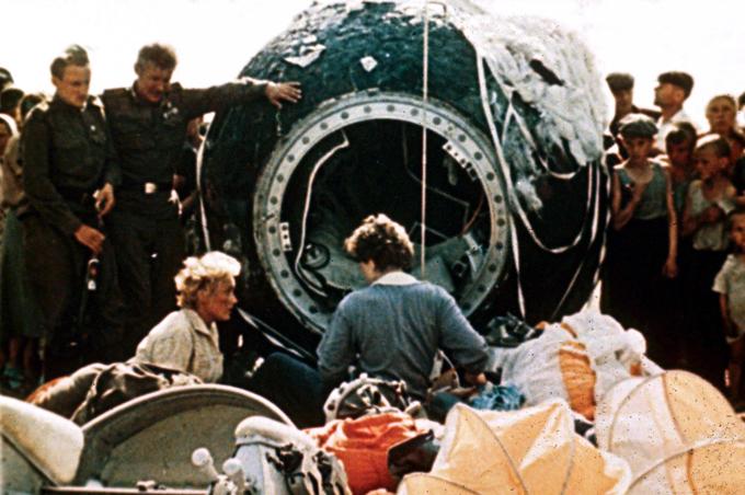 Valentina Tereshkova:  Primeira  mulher no espaço