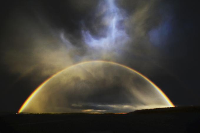 Os arcos-íris de diferentes tipos. Vejam. Existem vários tipos de arco-íris incomuns, alguns muito mais belos que o tipo mais frequente.  Fotos : Fotodom.ru/Rex Features