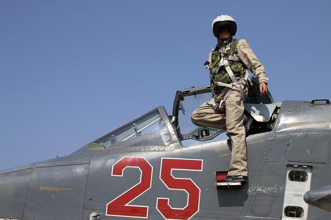 Aviões de combate russos na Síria
