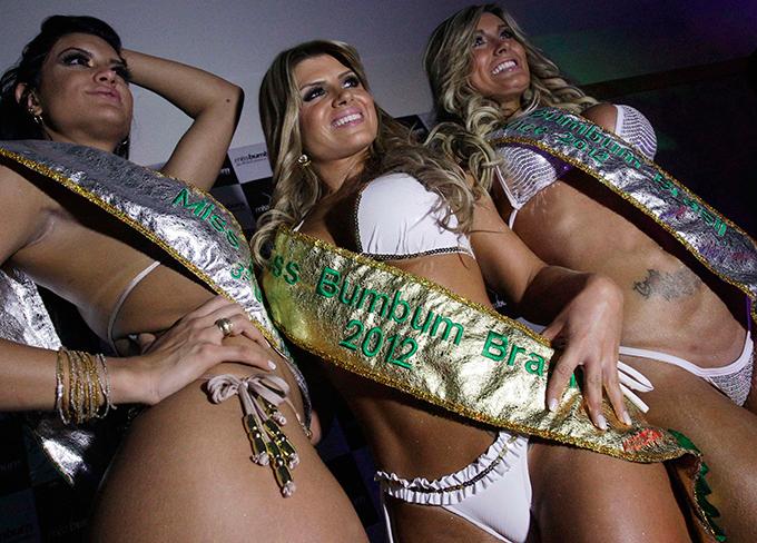 Brasil elegeu Miss Bumbum 2013 Camila Vernaglia, de São Paulo, ficou com o terceiro lugar. A segunda colocada foi Andressa Urach, ex-latinente.