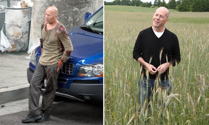 Bruce Willis: Tipo duro&  homem legal
