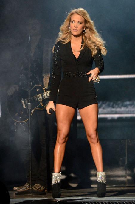 As melhores pernas do show business Carrie Underwood, US country singer All photos: Splash/All Over Press