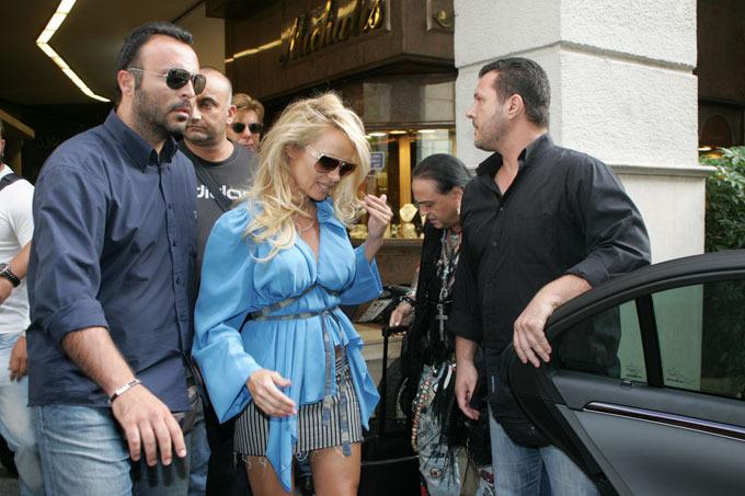 Pamela Anderson com corpo de dar inveja