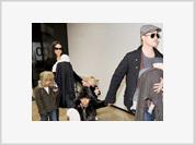 Jolie e Pitt se mudam para  o Brasil