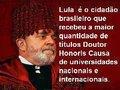 Lula: Peru de fora se manifesta