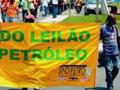 Brasil: Ato pela nacionalização das reservas de petróleo e gás