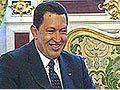 Primeiros encontros de Hugo Chávez na Rússia