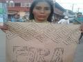 Manifestação em repúdio aos ataques contra o Cimi no Acre