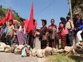 Indígenas protestaram contra mineração e militarização