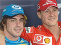 Schumacher vai ao Brasil conquistar o título do Campeão