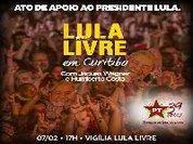PT convoca manifestações por Lula