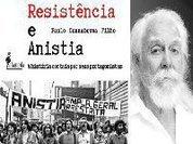 Ex-ministro, ativistas e intelectuais participam do lançamento do livro Resistência e Anistia
