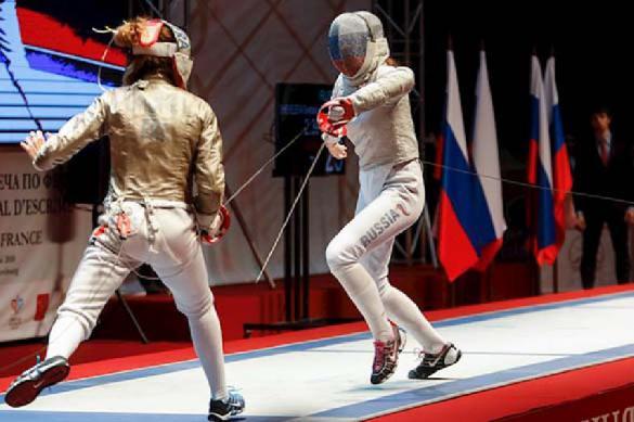 Ouro na equipa feminina de sabre