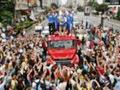São Paulo comemora a conquista do títilo mundial