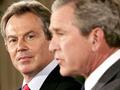 Bush e Blair admitem erros