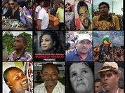 Homenagem aos que Foram  Assassinados pela Direita e pela Opressão, após o Golpe de 2016