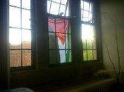 Janelas contra Bolsonaro e pela Palestina livre