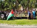Do Rio de Janeiro à Palestina: ato denuncia feira internacional de armas em São Paulo