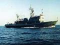 Navio russo afunda-se no mar do Japão