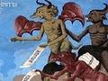 A peleja de NS da Vitória com o Diabo