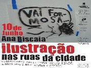 Ilustração no TCSB, com Ana Biscaia:  o que dirão as paredes?