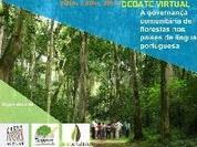 Debate  sobre a governança comunitária de florestas nos países de língua portuguesa
