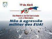 Dia Mundial de Solidariedade com a Venezuela