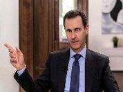 Presidente sírio realça contribuição da Rússia para equilíbrio global