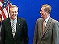 Serguei Ivanov e Donald Rumsfeld começam as consultas