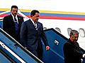Chávez passa ao redor do globo reunindo o apoio