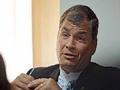 No Equador há uma ruptura constitucional, afirma Rafael Correa